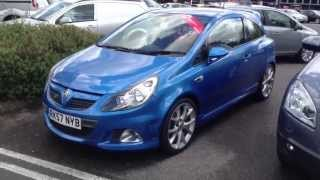Vauxhall Corsa VXR  Start Up, Exhaust, and In Depth Tour .