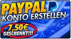 PayPal Konto erstellen + 10,00€ GESCHENKT! PayPal einrichten: Schnell & einfach! - 2017