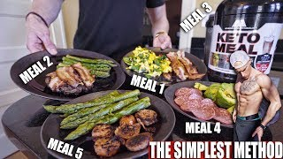 KETO SHREDDING DIET MEAL BY MEAL | FULL DAY OF EATING | CUTTING DIET MEAL PLAN