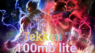 How to download Tekken 7 highly compressed 100mb lite game