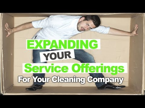 How to Expand Your Cleaning Company Service Offerings Successfully