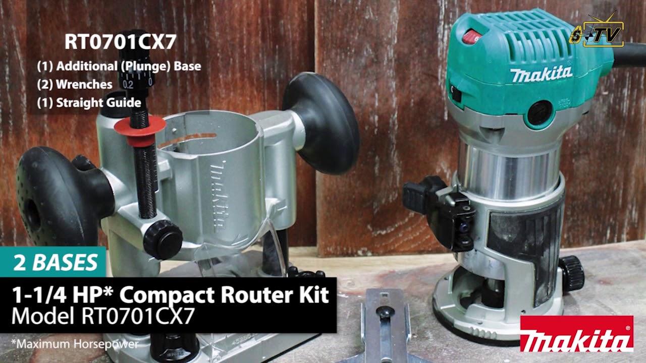 Enertwist Plunge Router Base for Enertwist ET-RT-710S Compact Router Kit