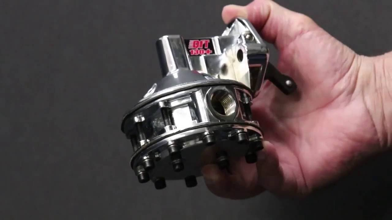 Quick Fuel Mechanical Fuel Pumps QFT 130+ Tutorial Overview
