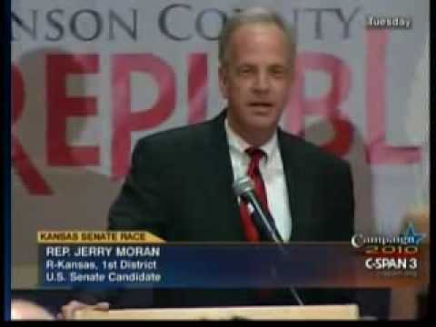 Jerry Moran Primary Election Victory Speech