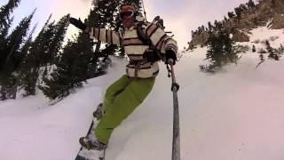 ski jackson hole stewart peak alpine wyoming Thumbnail