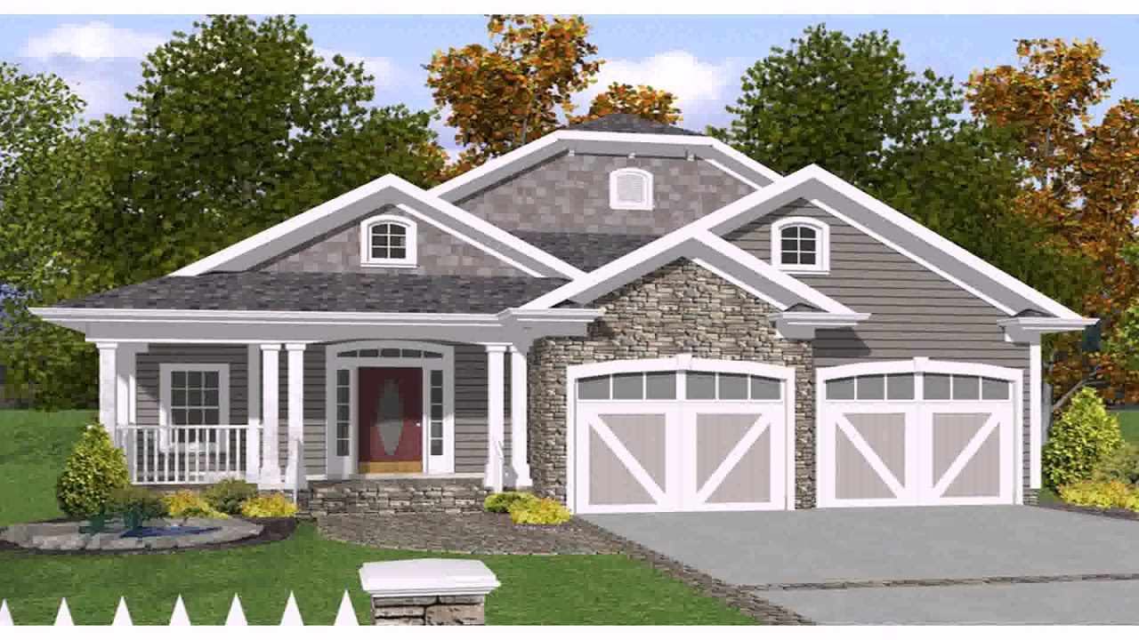 Landscape Design Front Of Colonial House Youtube
