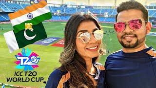 India vs Pakistan T20 World Cup   Match Highlights   Dubai Stadium View   4K