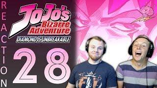 SOS Bros React - JoJo's Bizarre Adventure Part 4 Episode 28 - Epic Gamer Moment!
