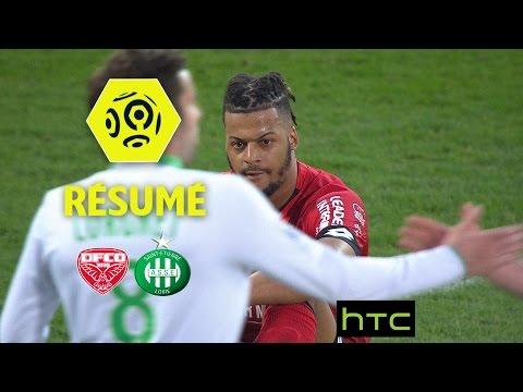 Dijon FCO - AS Saint-Etienne (0-1)  - Résumé - (DFCO - ASSE) / 2016-17