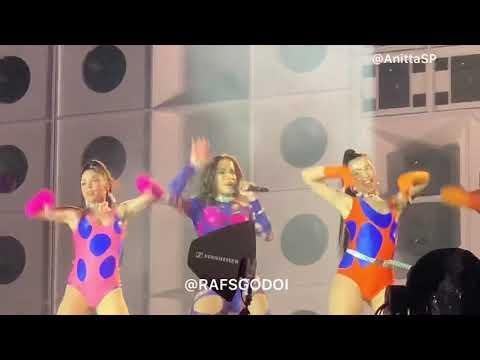 Make It Hot + Sua Cara + Sin Miedo - Anitta AO VIVO no Rock In Rio 2019