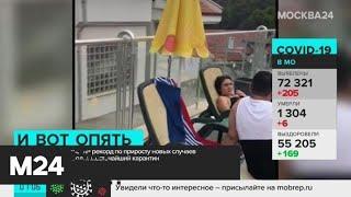 Москва 24 рассказала о ситуации с COVID-19 в мире - Москва 24
