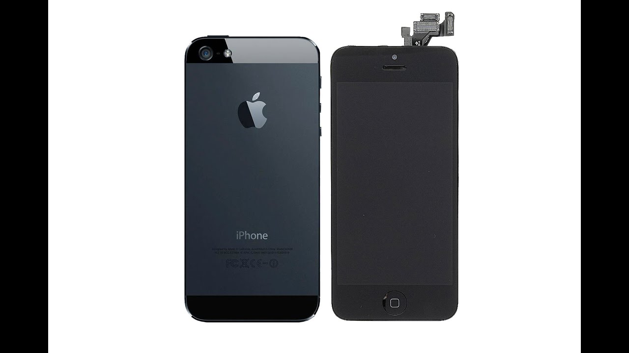 iphone 5 scherm vervangen ifixit