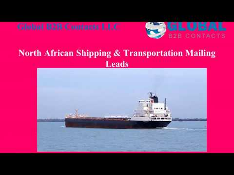 North African Shipping Transportation Mailing Lead