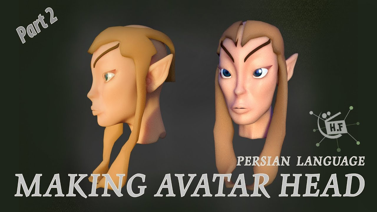 How To Create 3d Face Model Female Avatar Reference With Maya Part02