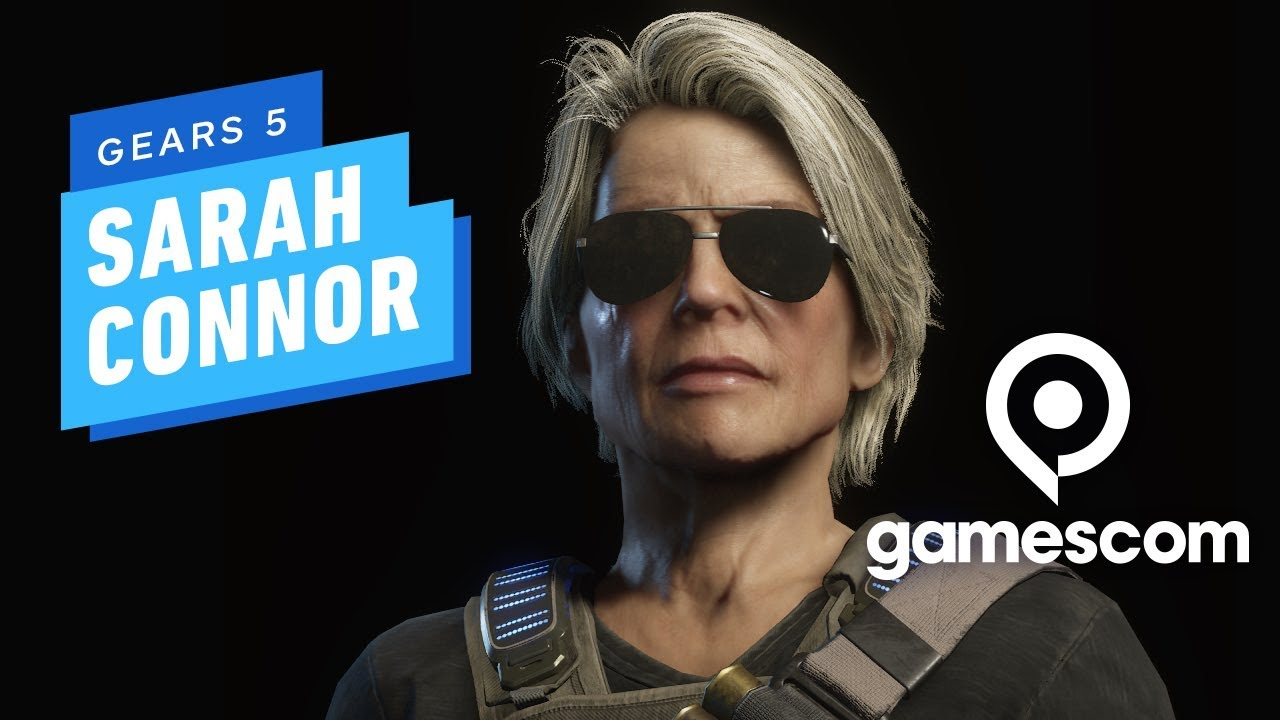 7 Minutes of Gears 5 Sarah Connor PC Gameplay at 4K 60fps - Gamescom 2019