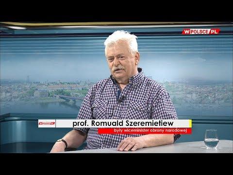 Szeremietiew: Na lini prezydent - MON mamy do czynienia może nie z konfliktem, ale ze zgrzytem