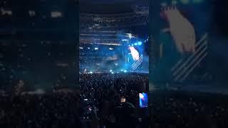 """Metallica исполнила песню группы """"Кино"""" на концерте в Москве"""