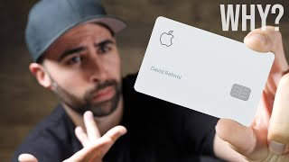 Why does the Apple Card exist?