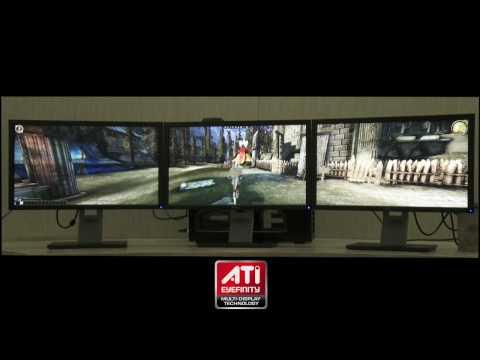 Playing Dragon Age: Origins at 5760 x 1200 Resolution   ATI Eyefinity Technology