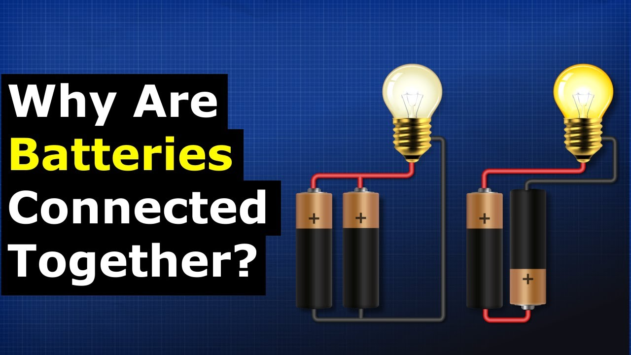 Why do we connect batteries?