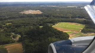 ERJ 175 Landing at Bradley International Airport (KBDL)