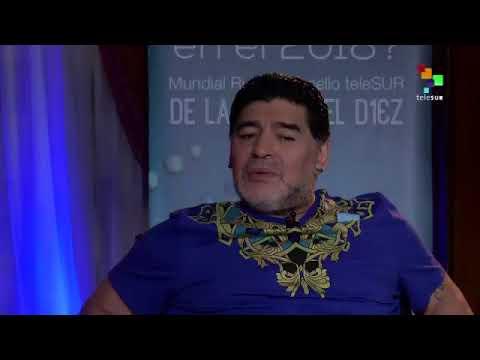 Maradona Venezuela will win the war of ideas without violence