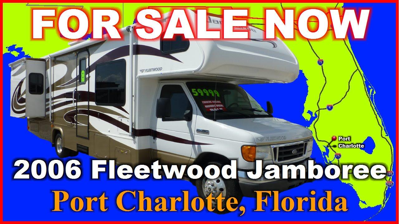 2006 Fleetwood Jamboree 31k Used Class C Motorhome Florida Port Charlotte Fort Myers Sarasota