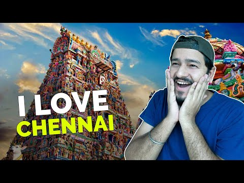 I LOVE CHENNAI - Spending a Perfect Day in Chennai - Mylapore, T Nagar, Elliots Beach Drone Views