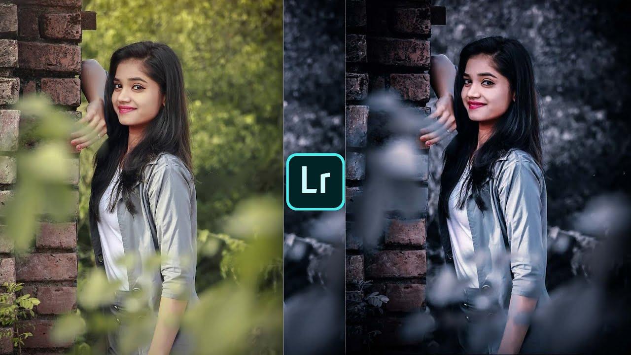 Download Lightroom photo editing   Dark and grey tone photo editing tutorial   preset download free  