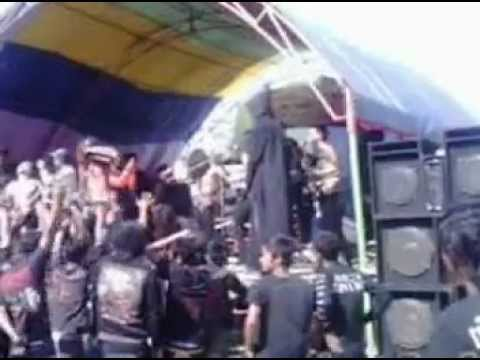 KRONIS 666 - Prajurit Hitam ( Live in Kampek Total Hitam #2 )