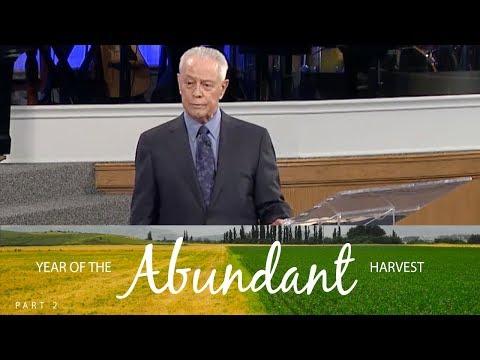 Year Of The Abundant Harvest Part 2