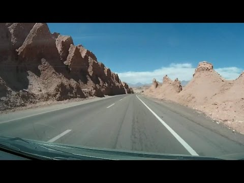 Journey From Calama Airport To San Pedro Atacama In Chile