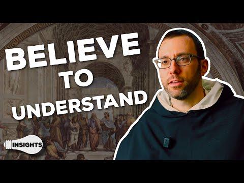 Faith Seeking Understanding - Fr. Sebastian White, O.P.