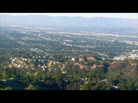 Flight over Beverly Hills and then the San Fernando Valley 7-24.m4v