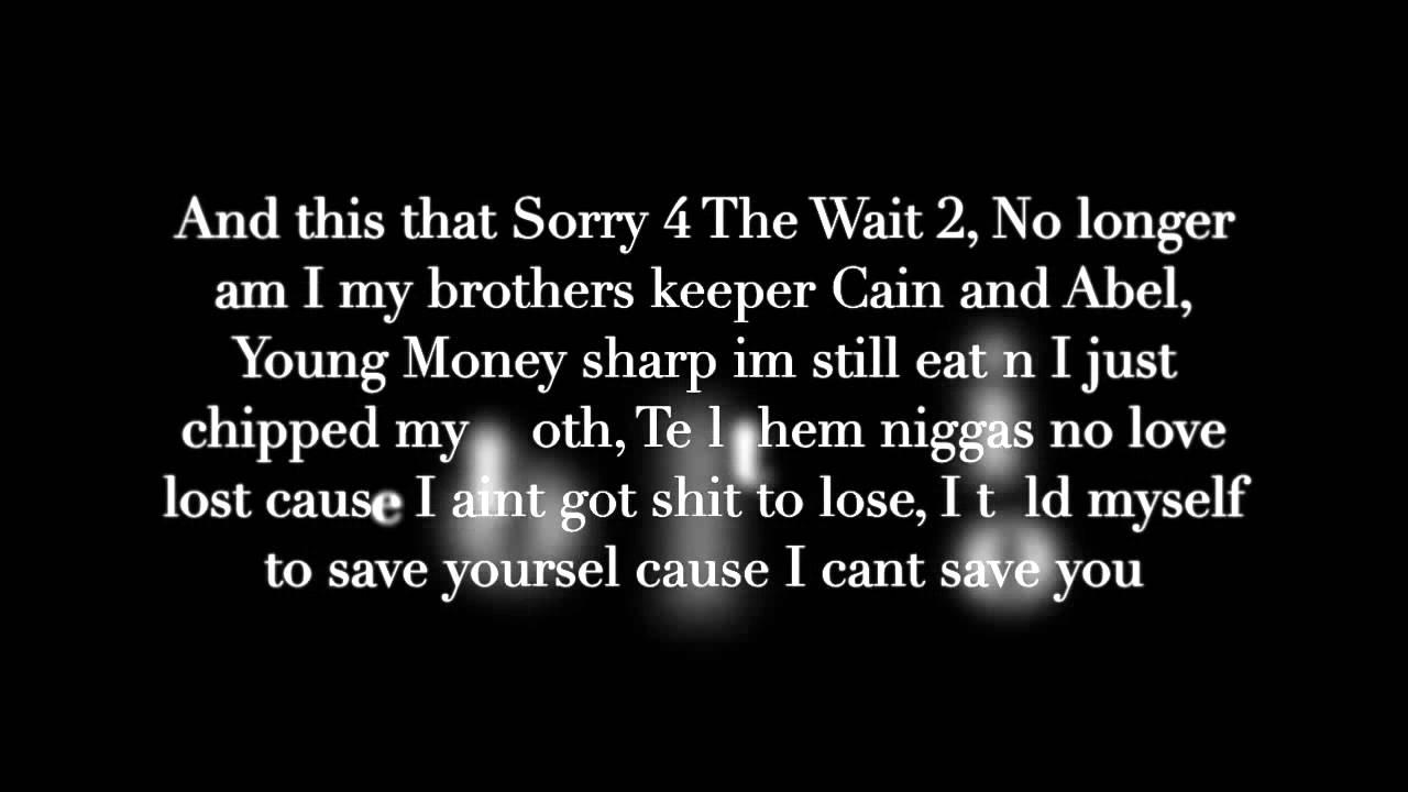 Maroon 5 - Wait Remix Lyrics | Loveplusmoney