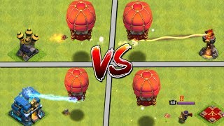 Stone Slammer vs ALL DEFENCES - New Siege Machine in Clash of Clans Update!