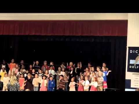 2012 Dicken Elementary Kindergarten concert
