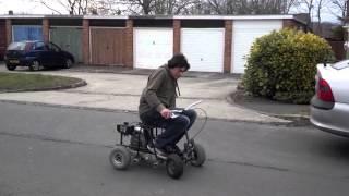 98cc petrol mobility scooter w/ manual clutch