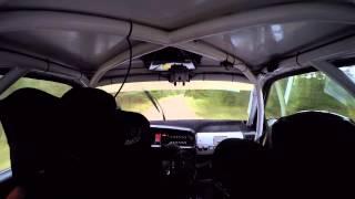 Martin Berglund/Sofie Lundmark, Rally Gotland 2015, SS1