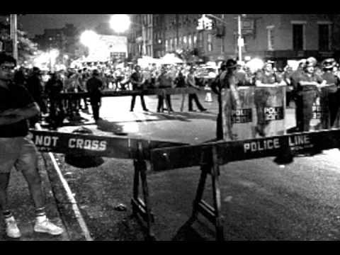 Tompkins Square Park protester debates Political Opponent