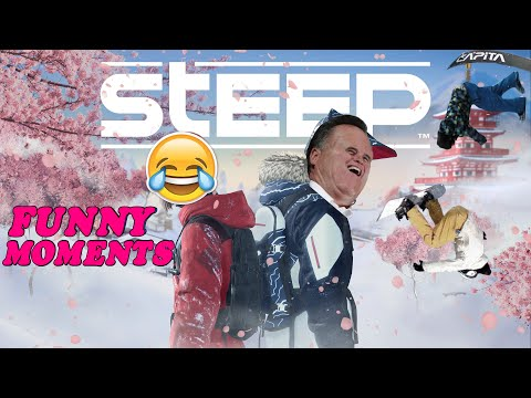 STEEP FUNNY MOMENTS!! (this game is amazing!)  