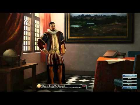 Civilization V OST | William War Theme | In Naam van Oranje