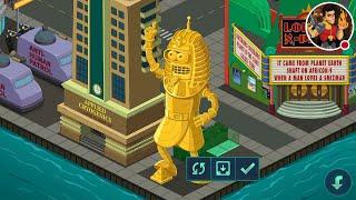 Futurama Worlds Of Tomorrow Early Access Gameplay Part 68 - Futurama: Worlds Of Tomorrow Pharaoh