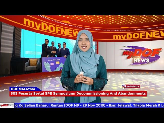 Sari Berita Utama #myDOF News 1 Disember - 6 Disember 2019