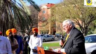 "Rememberance Day - Tribute to Sikh soldiers of ""Battle of Saragarhi"" in Adelaide 15 Sept 2013"