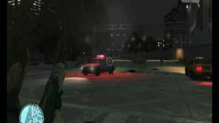 GTA IV vs. Cop Shoot Cop - 3 A.M. Incident