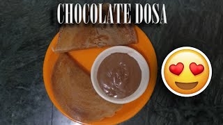 HOW TO MAKE CHOCOLATE DOSA | CHAPPANBHOG