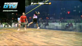 Squash : HotShots - Ramy Ashour - PSA El Gouna Squash 2012 QF