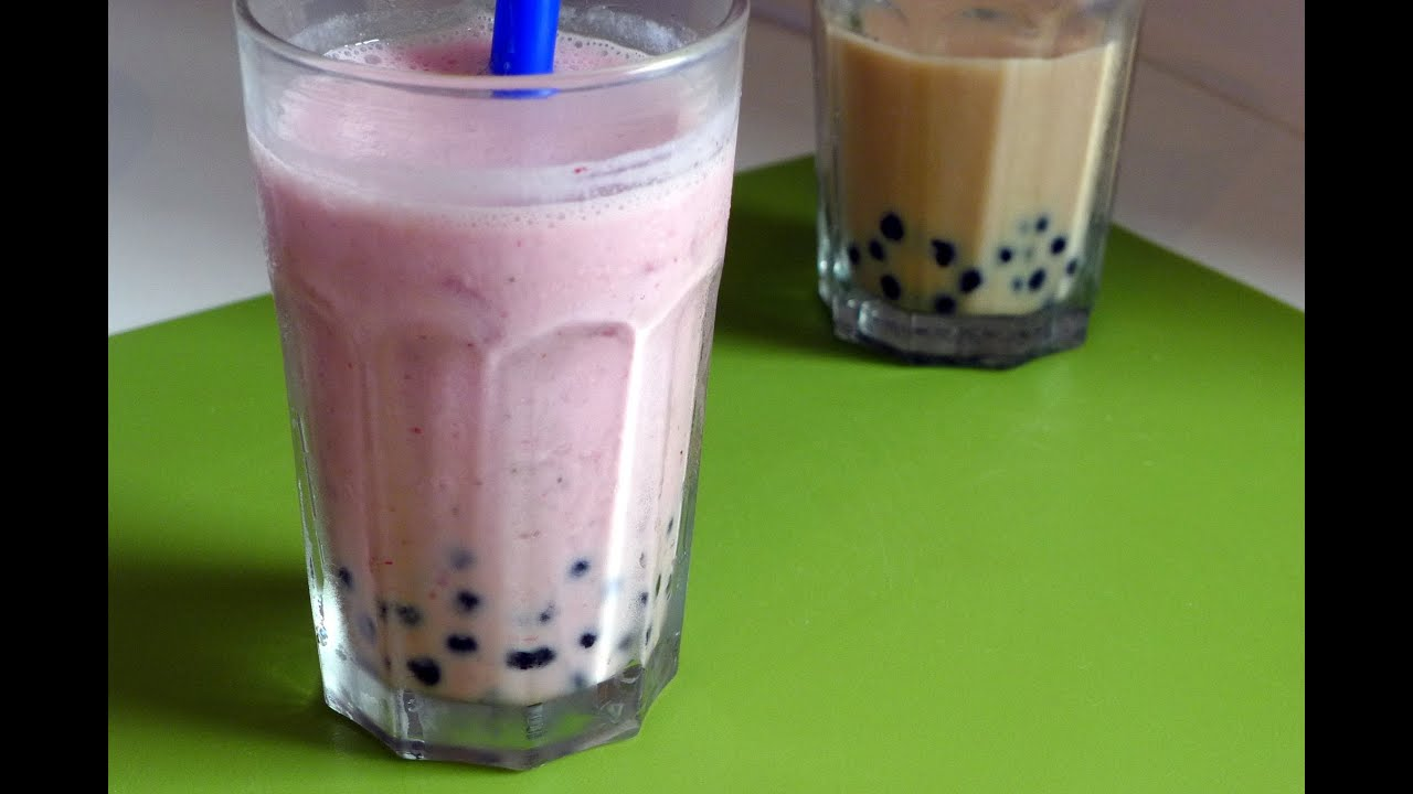 How To Make Bubble Tea Tr 224 Sữa Tr 226 N Ch 226 U Youtube