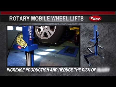 Rotary Lift: Mobile Wheel Lifts